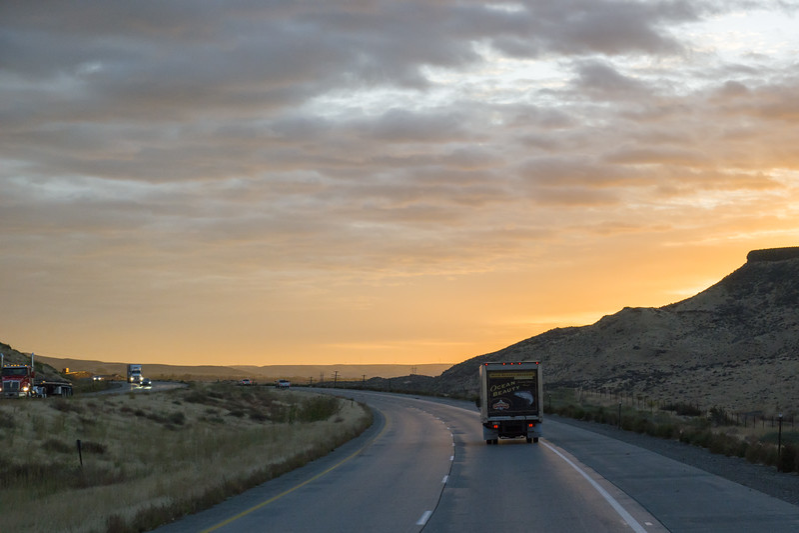 Idaho Sunrise I-84