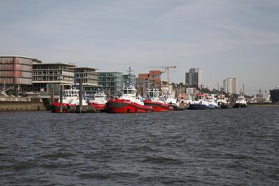 2008 09 20 Schlepperjob BUGSIER 17 im Hamburger Hafen