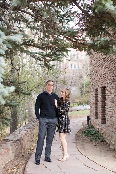 Christa and Brendon Engagement in Boulder