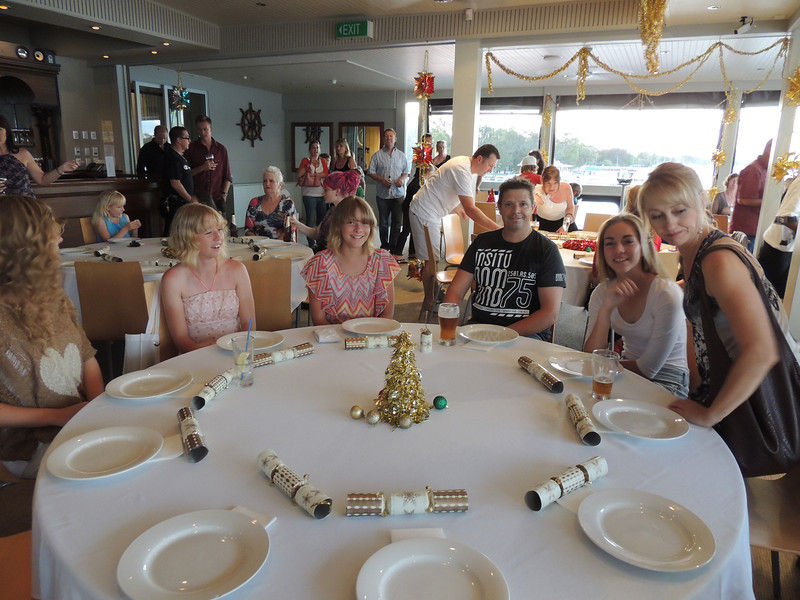 3rd Annual Combat Karate Christmas Party & Awards Noosa 2012 Haste Family & Molly & Mum
