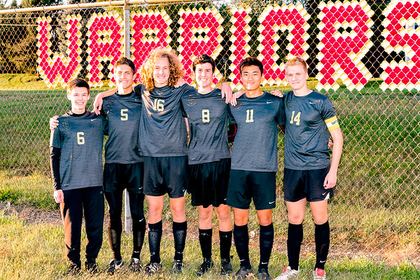 WCHS Boys Varsity Soccer Senior Night