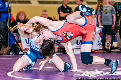54 - Howard def Cannon - Freestyle Finals - 2017 UWW Cadet