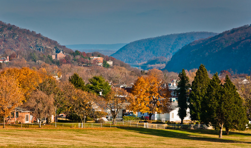 View from Bolivar Heights, Harpers Ferry, WVA