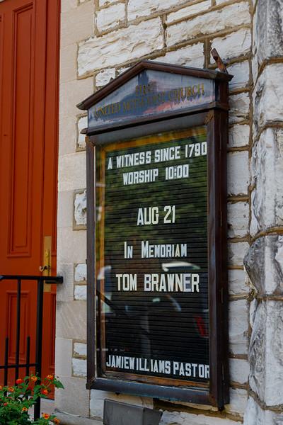 Tom Brawner III life celebration Frankfort KY  8 21 2021