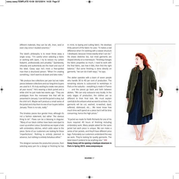 Selvedge Magazine - Issue #62 - 2015
