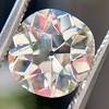3.56ct Antique Cushion Cut Diamond 1