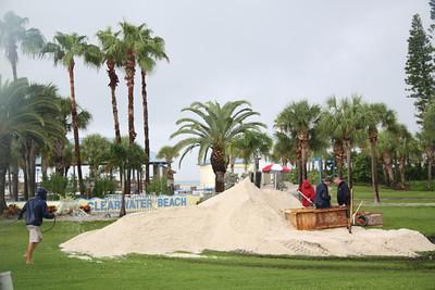 Beach Sand Sculpture 2011