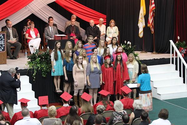 Washington Catholic 2015 Graduation