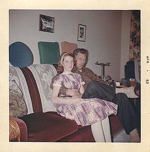 Mom and Grandpa Ira