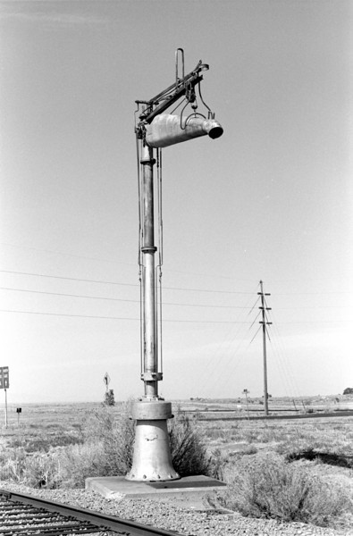 Water column, Hill AFB, 1982. (Don Strack Photo)
