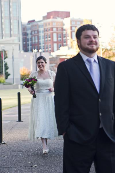 wedding first look nashville