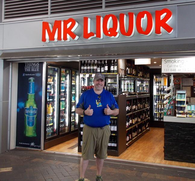That's me... Mr. Liquor.