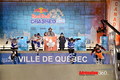 2015 - Red Bull Crashed Ice Quebec
