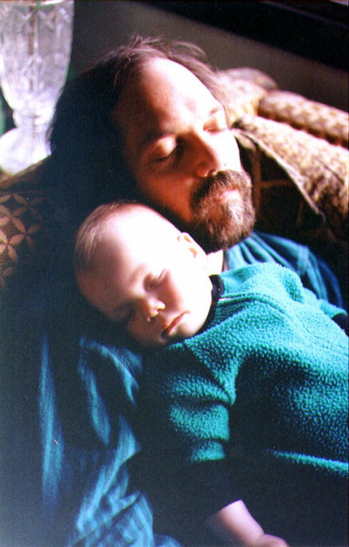 Sleepy Time for Alina & Dad, 1992 .jpg