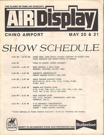 Chino Airshow 1989
