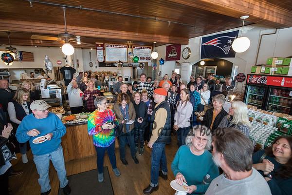 2020-2-23 Wesley Pratt Retirement party, Joe's Meat Shoppe