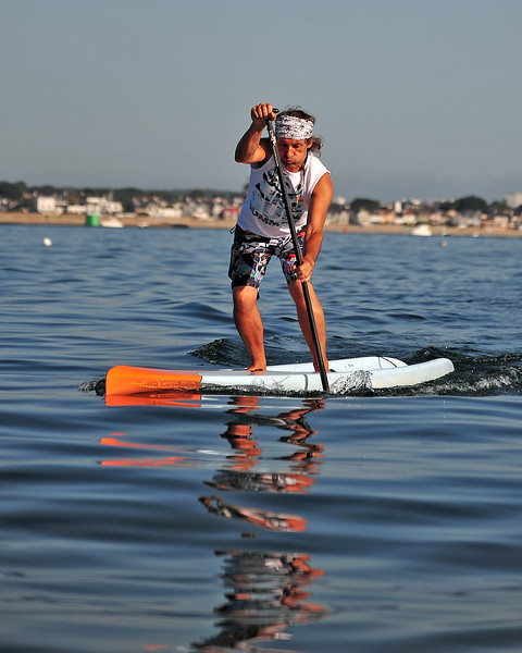 2014 Aug 16 - Tour de Gavres SUP
