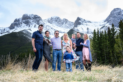 Canmore Mountains - Leah Tolman and Family