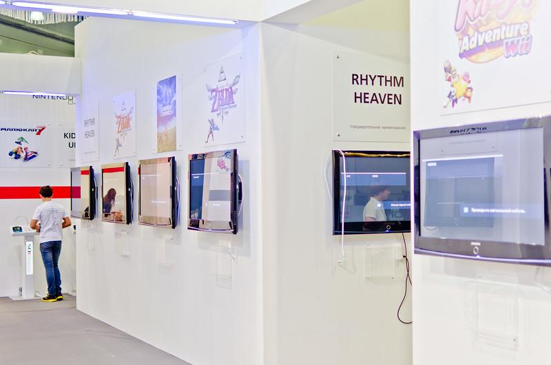 Nintendo booth at Igromir 2011