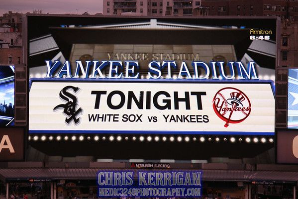 White Sox vs Yankees 8/22/14