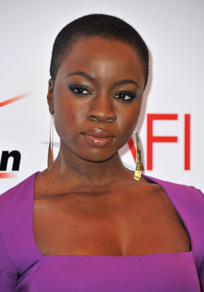 . Actress Danai Gurira attends the 13th Annual AFI Awards at Four Seasons Los Angeles at Beverly Hills on January 11, 2013 in Beverly Hills, California.  (Photo by Alberto E. Rodriguez/Getty Images)