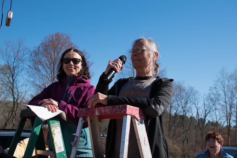 Liz Cope and Judy Godino