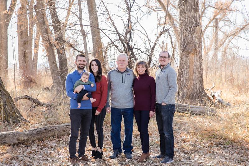 The Bland Family at McKay Lake
