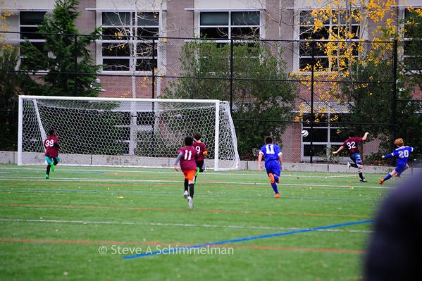 OLF 6th Grade Boys CYO Soccer final game