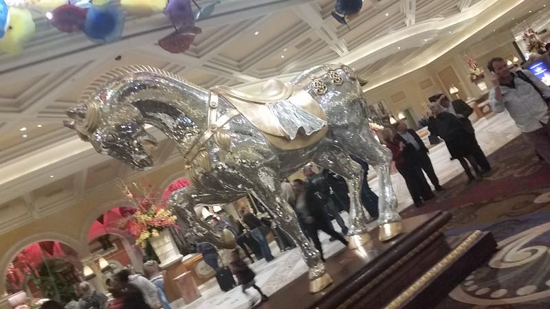 Glass Horse? Mirror Horse?