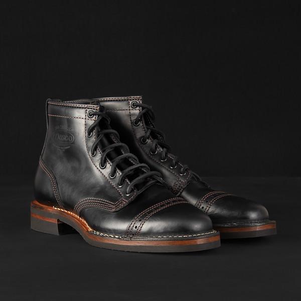 "Iron Heart Int'l x Wesco® - 7"" Black Tie Domain Toe Cap Boot--4.jpg"