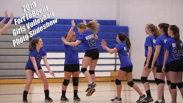 Fort LeBoeuf Middle School Girls Volleyball 2019 Slideshow