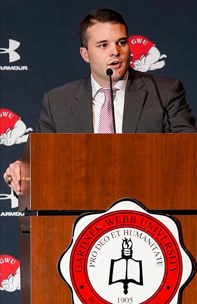 Gardner-Webb names football coach