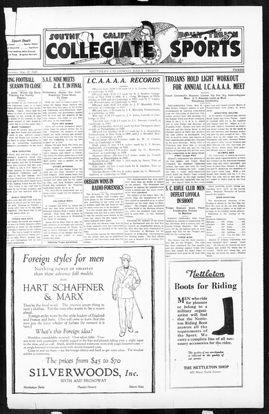 Daily Trojan, Vol. 16, No. 114, May 27, 1925