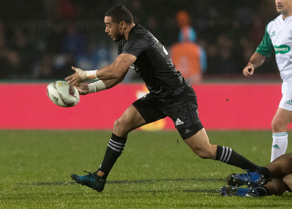Bryn Hall during game 5 of the British and Irish Lions 2017 Tour of New Zealand,The match between  The Maori All Blacks and British and Irish Lions, Rotorua International Stadium, Rotorua, Saturday 17th June 2017 (Photo by Kevin Booth Steve Haag Sports)  Images for social media must have consent from Steve Haag