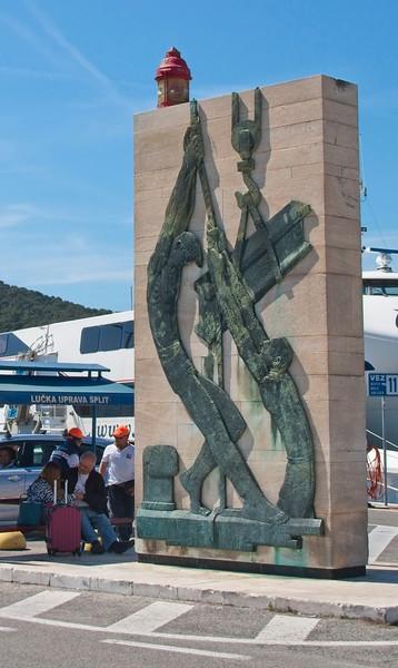 Ferry Terminus, Split, Croatia