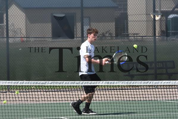 LUHS Boys' Tennis vs. Medford May 16, 2019