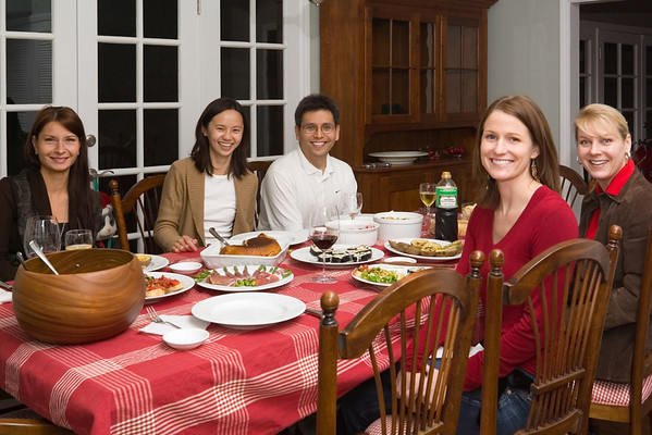 2006 12/16: First Dinner Party In New Home