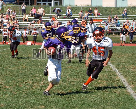 Boiling Springs PeeWees Football - Bengals vs Susquenita BlackHawks - Nikon D50 - September 23, 2007