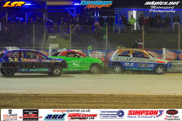 1300 Saloon Stock Cars, Ipswich, 19 October