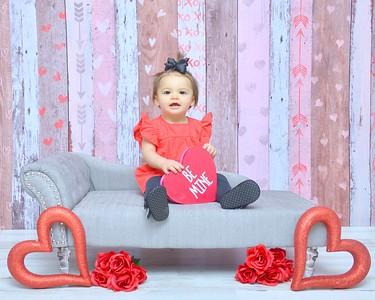 Adalyn Valentine's Day 2020