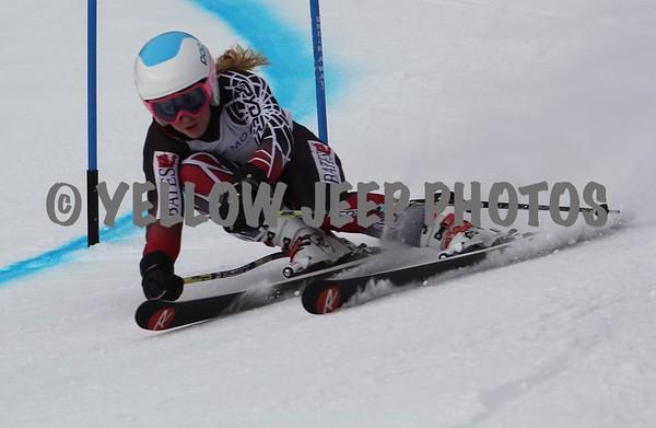 2015 Eastern FIS Finals U18-U21 GS Womens 3-9-15