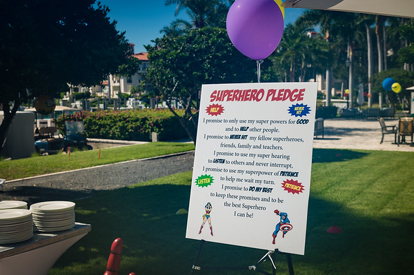 2018 Rendezvous Superhero Challenge BBQ