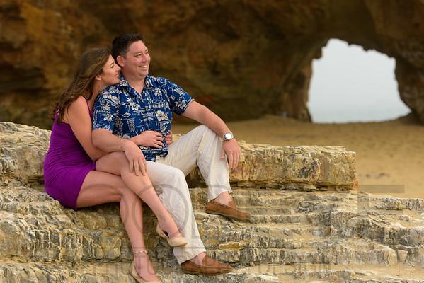 Kate and Alex (Engagement Photography) @ Panther Beach, Santa Cruz, California