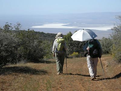 Carrizo Plain Nat. Mon. ridge hike April 2013