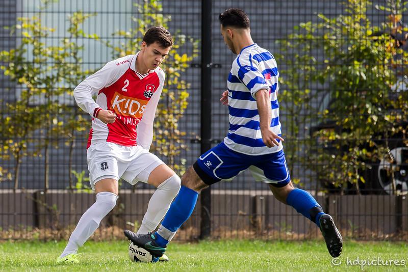 17-09-2016: Voetbal: A'66 O19-2 v XerxesDZB O19-2: Rotterdam seizoen 2016/2017
