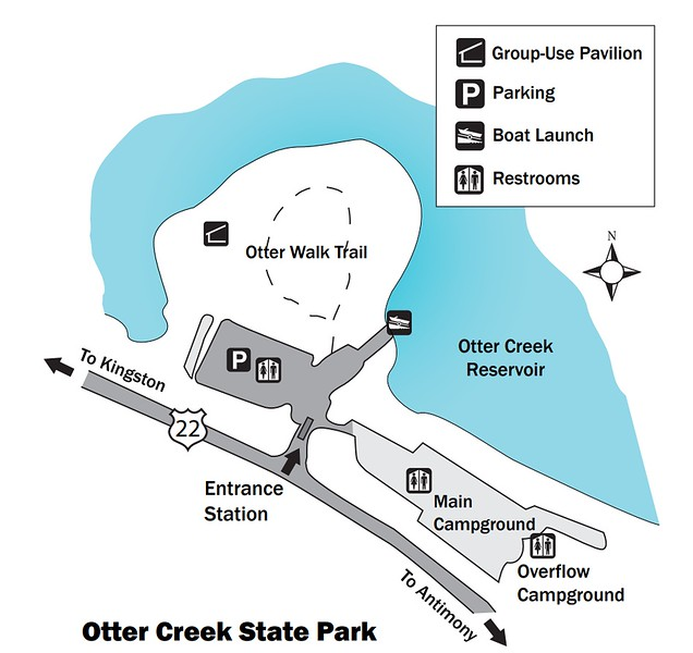 Otter Creek State Park (Facilities Map)