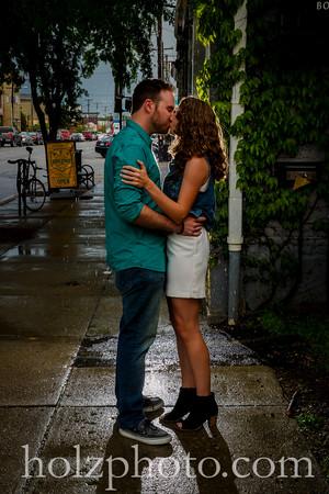 Caitlin & Zane Color Engagement Photos
