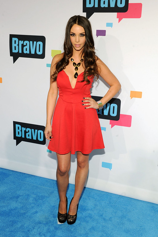 . Scheana Marie attends the 2013 Bravo New York Upfront at Pillars 37 Studios on April 3, 2013 in New York City.  (Photo by Craig Barritt/Getty Images)