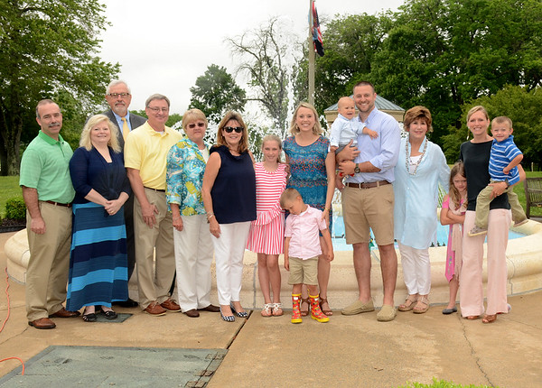 Duane Fender Fountain Dedication - Kevin Yeager