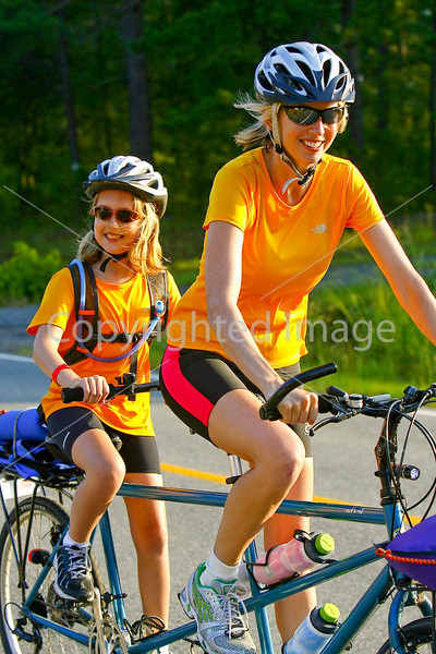 Kids on Tandems